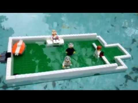 Lego ships sinking