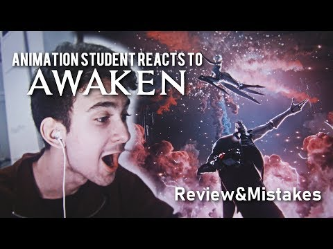 ANIMATION STUDENT REACTS TO AWAKEN - ANALYZE, REVIEW AND MISTAKES