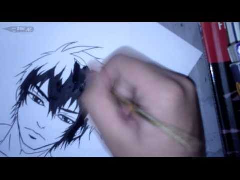 Speed Ink Kougami from Psycho Pass!