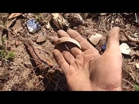 Metal Detecting An Old Mill And Homestead