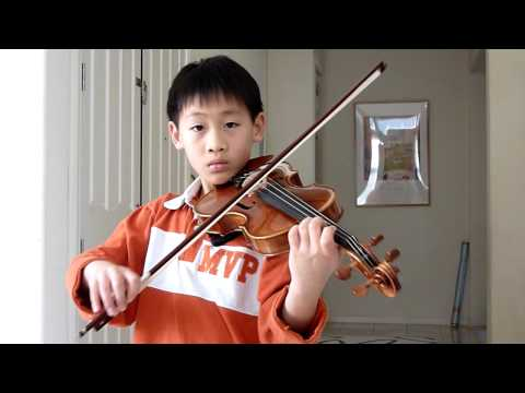 River Flows in You--violin duet by Esther & Joshua