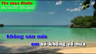 Âm dương cách biệt - Mai Sy Đằng - karaoke