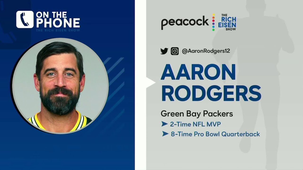 Packers Qb Aaron Rodgers Names His Favorite Episode Of The Office The Rich Eisen Show 9 25 20 Youtube