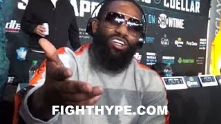 ADRIEN BRONER EXPLAINS OUTBURST AT MAYWEATHER CEO: