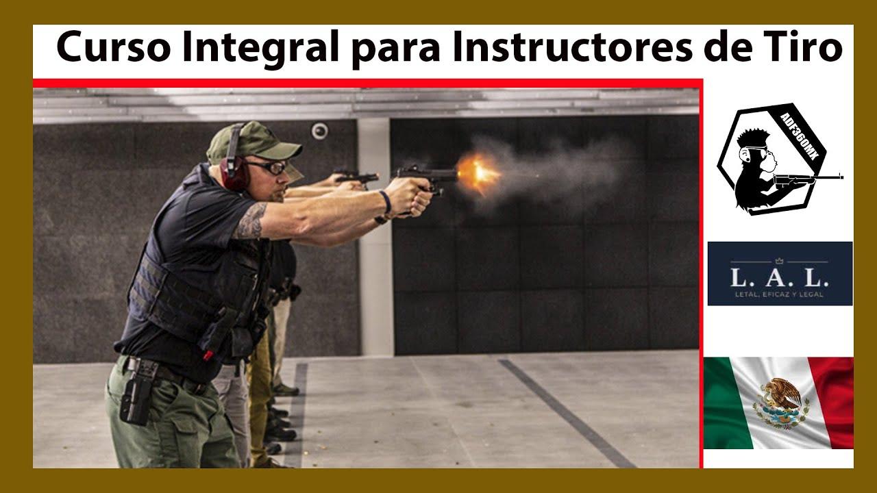 Curso de Tiro con Pistola, Rifle y Escopeta (Curso para Instructores)
