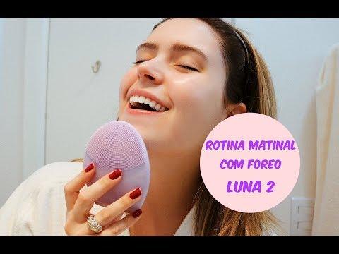 ROTINA MATINAL COM FOREO LUNA 2