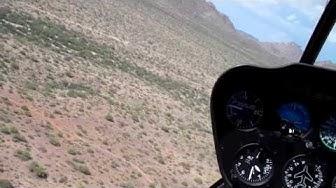 Maria Langer, Flying M Air, flies us over Gold Rich Congress, AZ