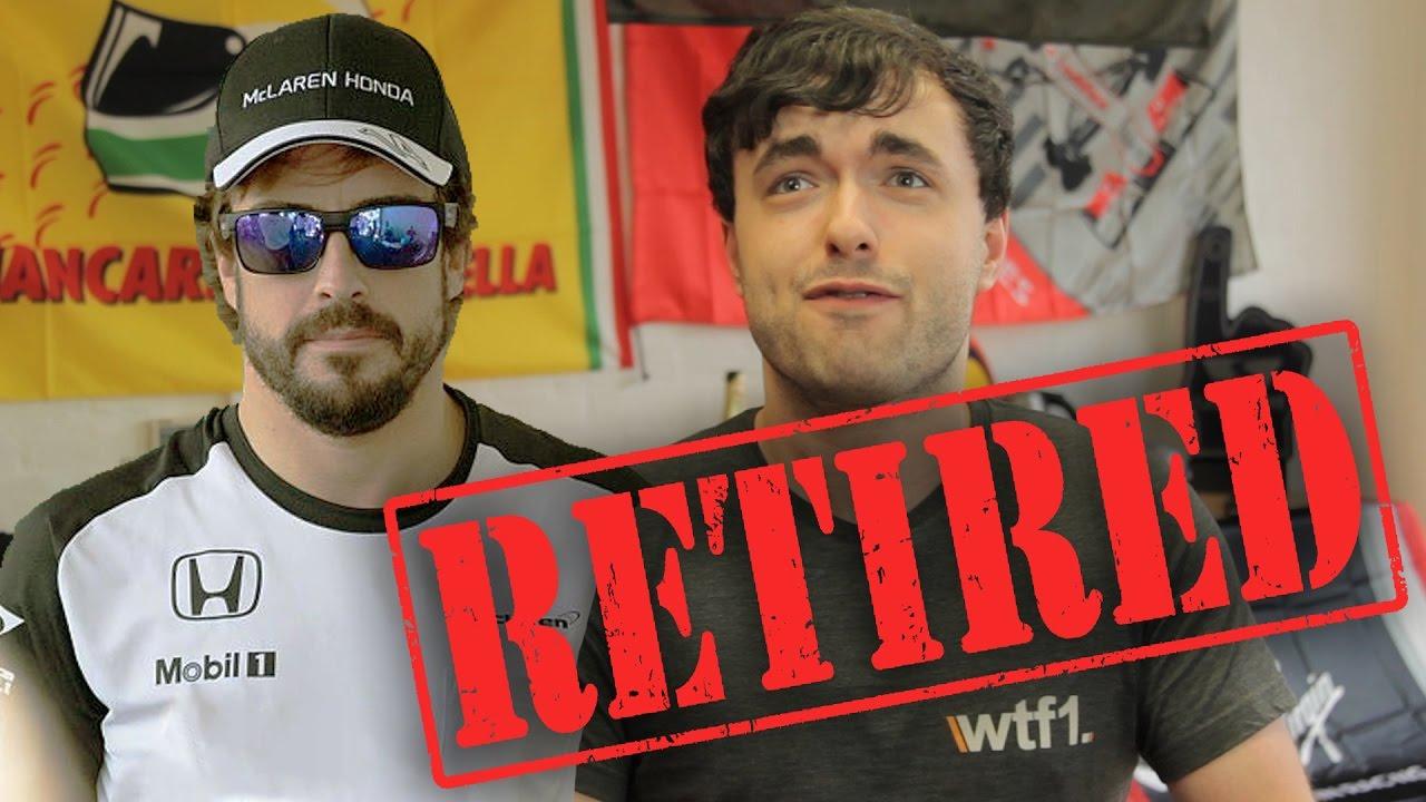 Fernando Alonso Retires From F1