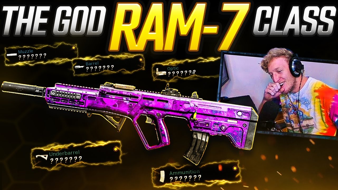 the GOD RAM-7 class you've been asking for... (Modern Warfare Warzone)