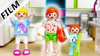Playmobil Film Deutsch | JULIAN HAT WINDPOCKEN - JUCKREIZ EXTREM! DER GIPS MUSS AB | Familie Vogel