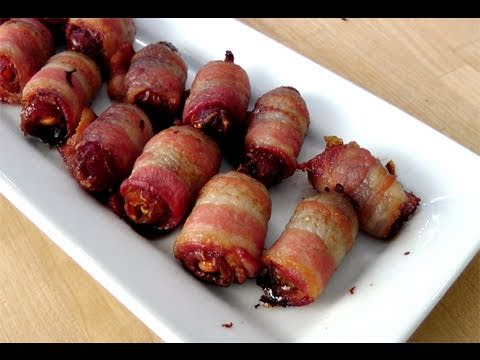 Candied Bacon Bites - Recipe by Laura Vitale - Laura in the Kitchen ...