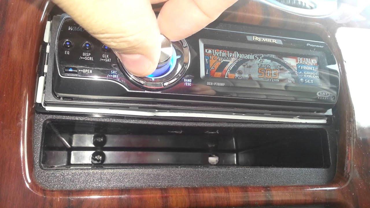 medium resolution of pioneer deh p7800mp car stereo unit