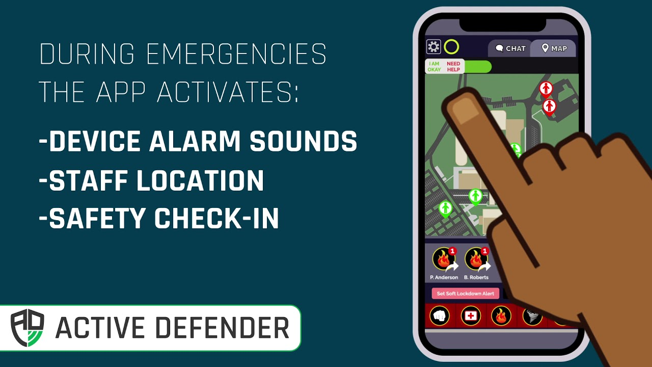 Active Shooter Intruder with Active Defender
