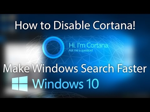 How to Disable Cortana and Web Results in Search Box Windows 10