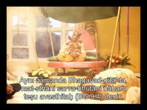 Prabhupada 0595 Çeşit İstiyorsanız Bir Gezegene Sığınmalısınız