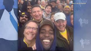 Chris Webber Reflects on His Emotional Return to Michigan   The Rich Eisen Show   11/5/18
