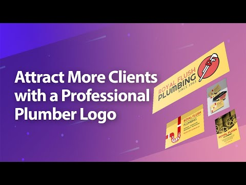 Attract More Clients with a Professional Plumber Logo