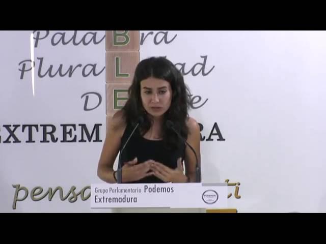 Irene de Miguel denuncia la mezquina manipulación del PSOE de los trabajadores del Infoex