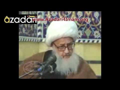 آیت الله العظمی شیخ حسین وحید خراسانی - Azadari4Imam