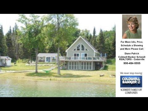1609 S Marquette Island, Cedarville, MI Presented by Diane Patrick.