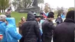 Пикеты в Москве за права балкарцев.