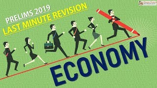 Must Revise Topics : ECONOMY || Prelims 2019