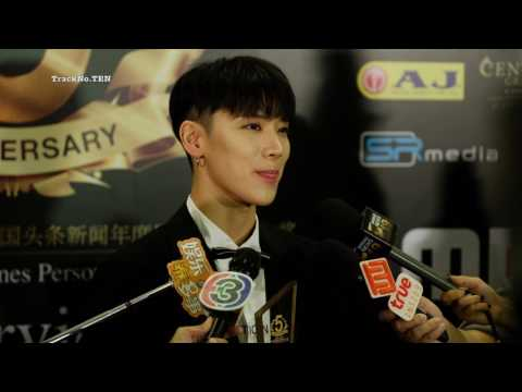 [[4K]]030717 TEN's Interview at Thailand Headlines Person of The Year Awards 2017