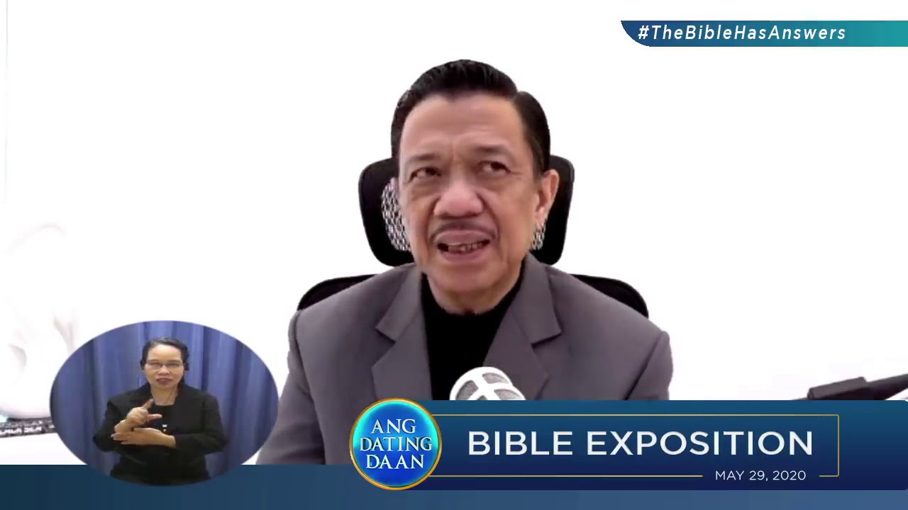 BibleExpositionBro Eli Soriano - YouTube