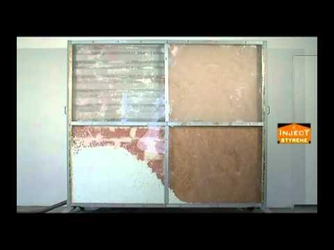 Isolation Par Insuflation De Billes De Polystyrene Maisons Type Phenix Youtube