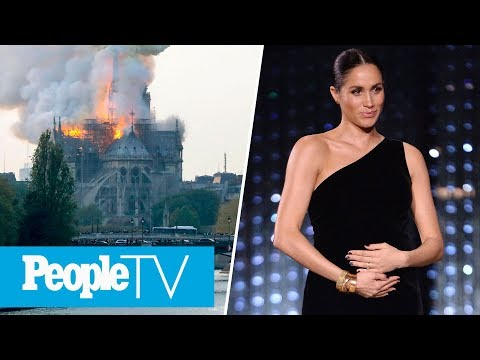 New Clues Into Meghan Markle's Due Date, Notre Dame Cathedral 'Saved & Preserved' | PeopleTV