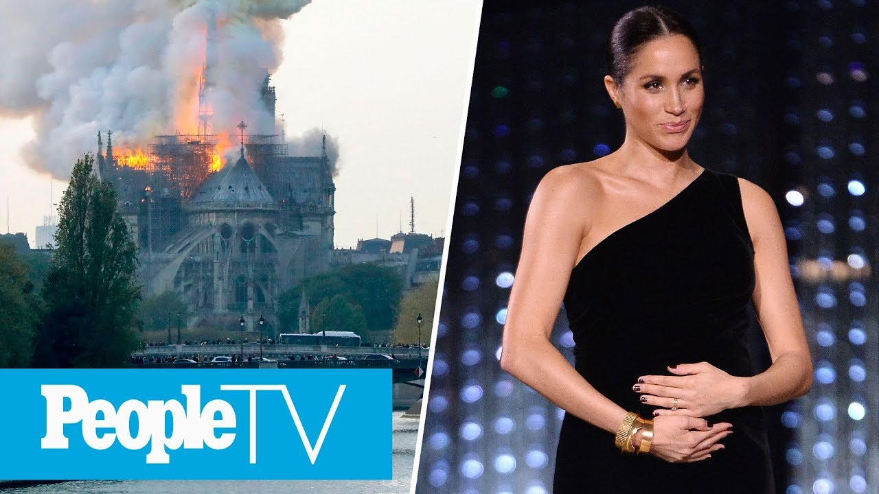 Salma Hayek's Husband Pledges $113 million to Rebuild Notre Dame After Fire
