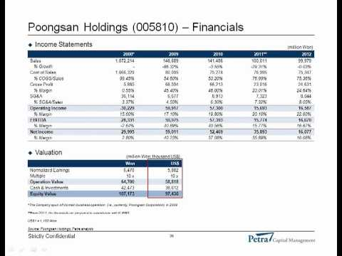 Presentation by Petra Capital Management: Holding Company Discounts