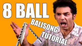Balisong Tricks - (Behind the 8 Ball) - Intermediate #16