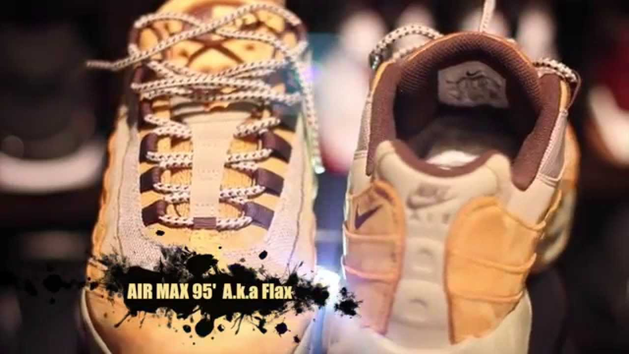 4c69338ba3d Air Max 95  Flax Authentic In Depth Unboxing Review + On Foot!!! - YouTube