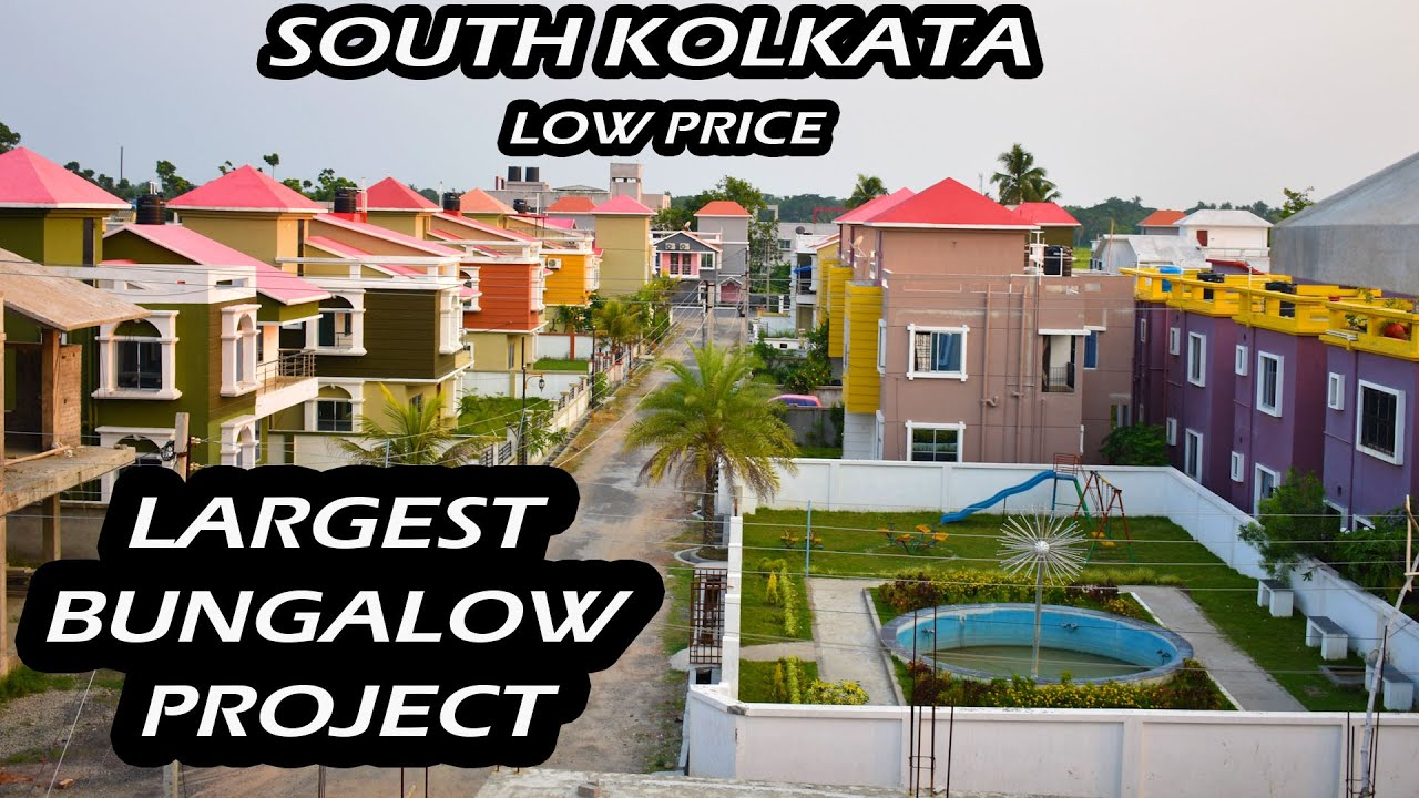 Joka South Kolkata Largest Township Project In Ready To Move | Largest Bungalows Project In Kolkata