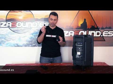 Review PORT12UHF-BT y PORT15UHF-BT de Ibizasound.es
