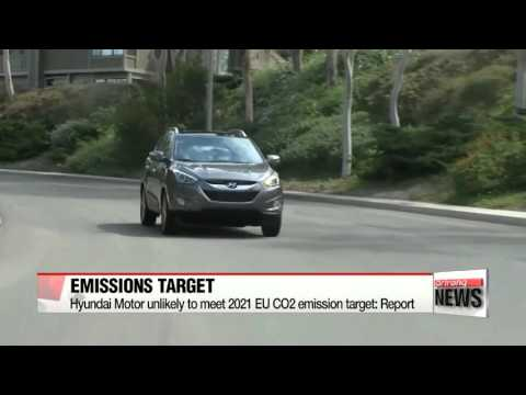 Hyundai Motor unlikely to meet 2021 EU CO2 emission target: Report   ″현대차,