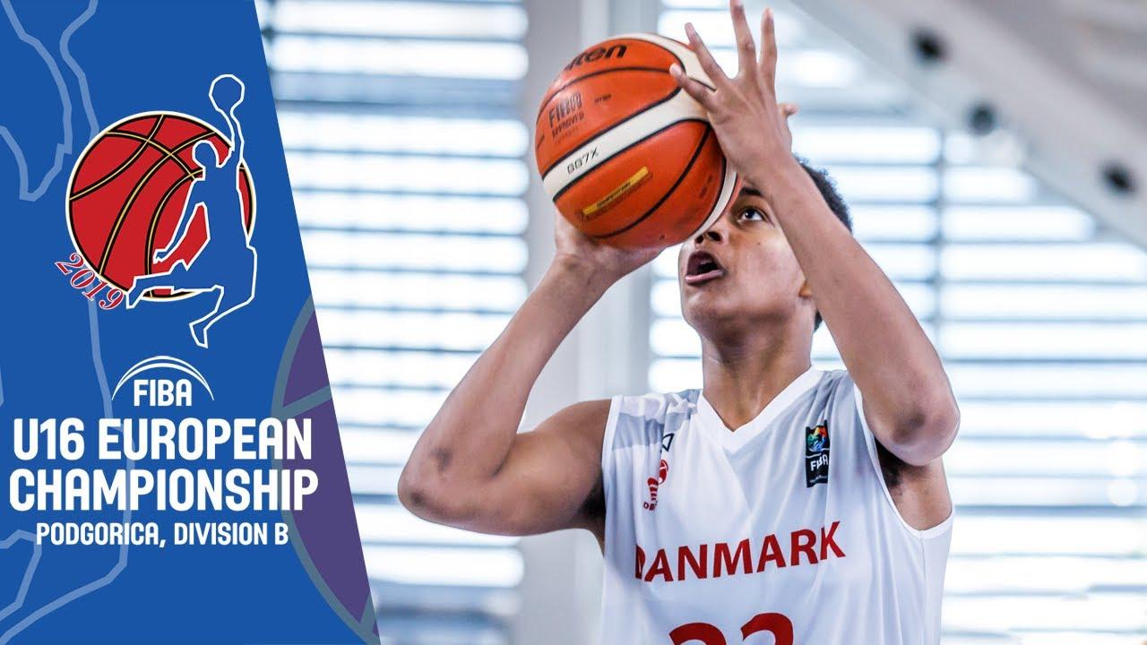 Montenegro v Denmark - Full Game - FIBA U16 European Championship Division B 2019