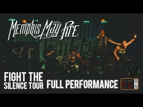 Memphis May Fire - FULL SET #2! Fight The Silence 2013 Tour (Ace Of Spades - Sacramento)