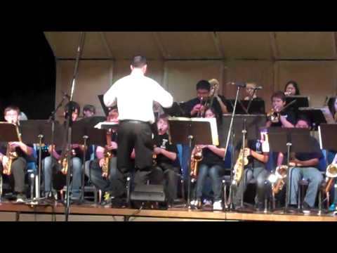 Parrish Middle School Jazz Band - Boogaloo Man