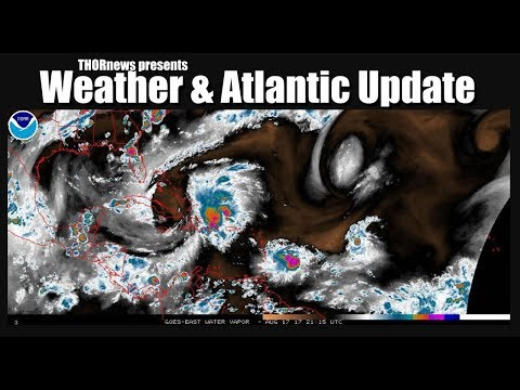 USA Weather & Active Atlantic Update - It's crazy out there.