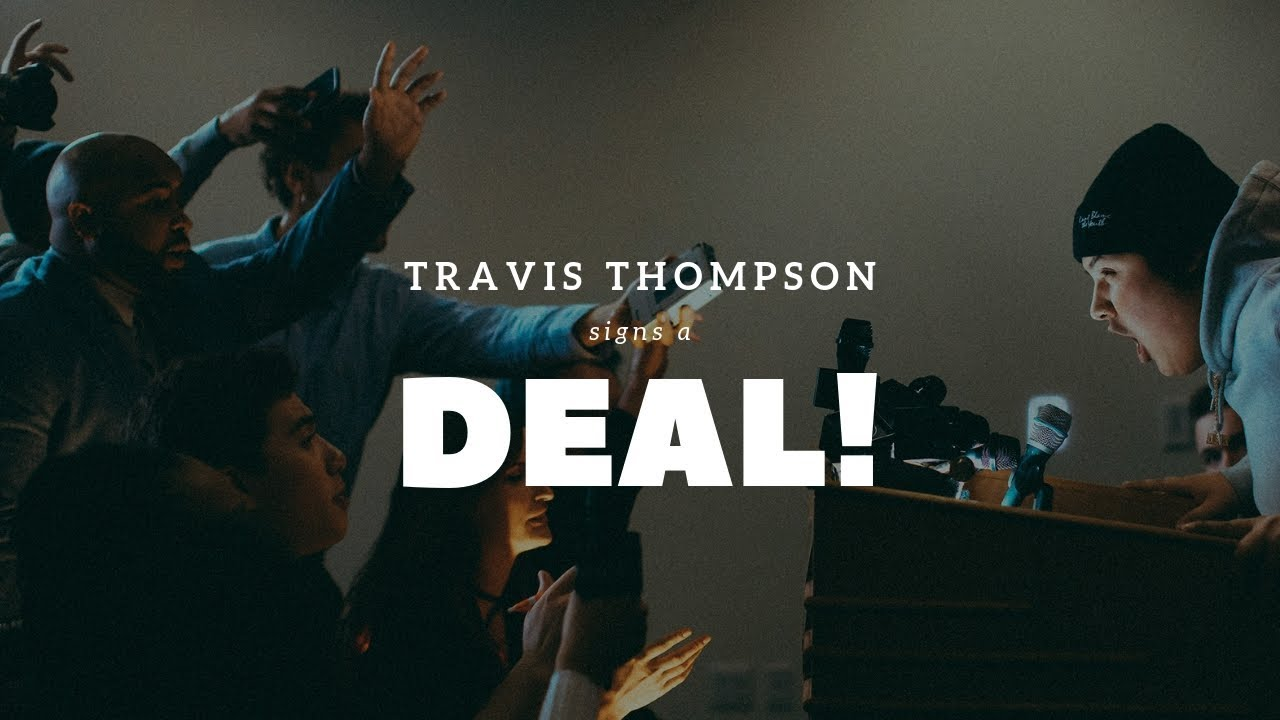 Travis Thompson Signs A Deal