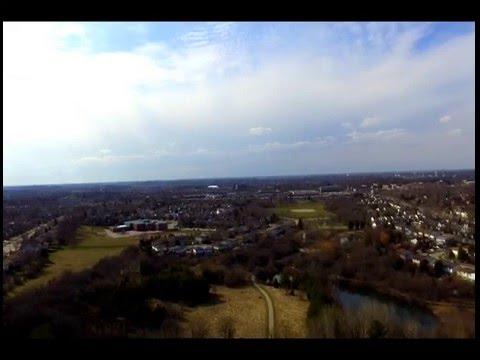 DJI Phantom 3 Standard Drone - First Flight (HD)