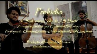 🎸 Prelúdio BWV 1007 de J.S. Bach (Arranjo para Trio)
