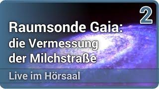 Gaia: die Vermessung der Milchstraße (2/2) • Live im Hörsaal   Stefan Jordan