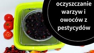 Oczyszczanie warzyw i owoców z pestycydów - detox podstawy