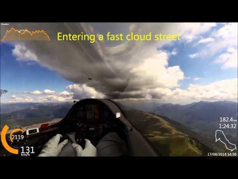 Competition gliding in Rieti