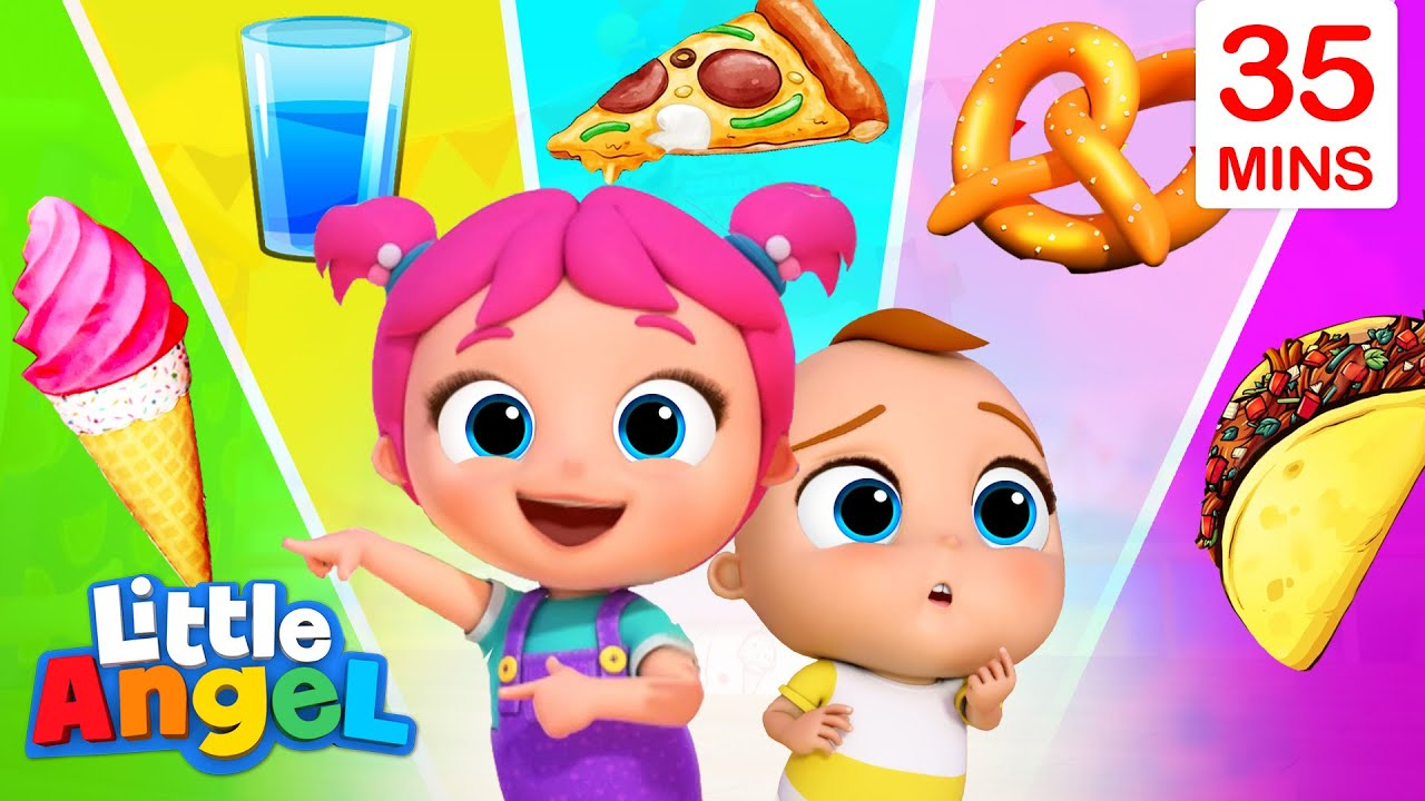 Flavour Song With Baby John + More Little Angel Kids Songs & Nursery Rhymes