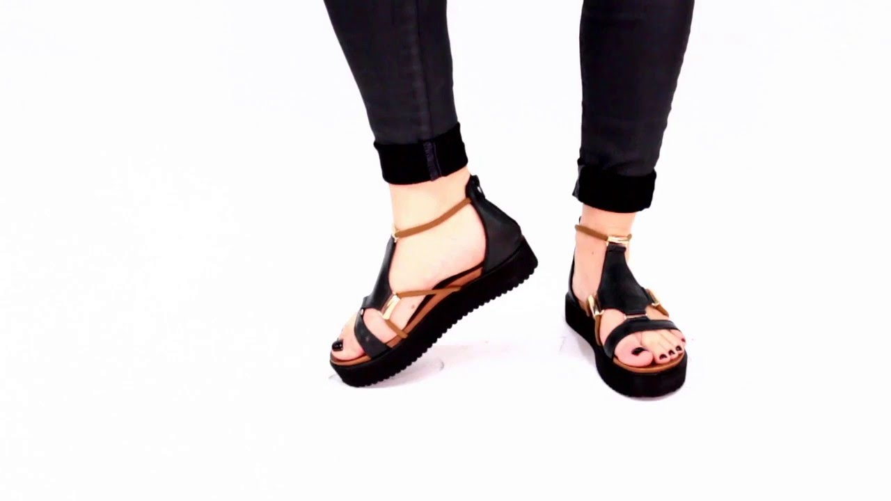 0086be25628 Miz Mooz Women s Dharma Platform Sandal - YouTube