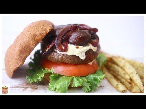 Le Véritable Burger Vegan | The Mushroom Den